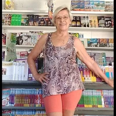 Neuza Maria, 68 anos, site de relacionamento gratuito