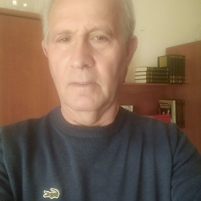 Albano Centurio, 66 anos, namoro online