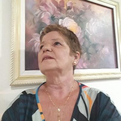 Sandrinha, 60 anos, namoro serio