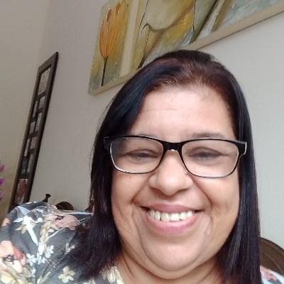 Cida, 58 anos, site de relacionamento