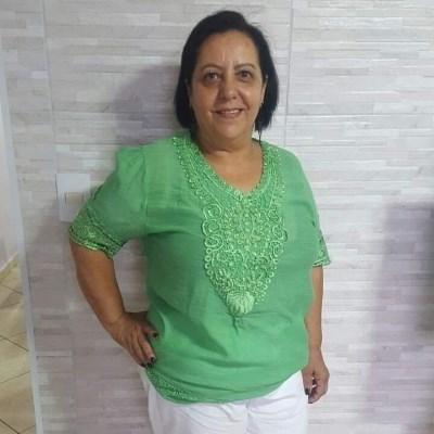 Vera Lucia, 64 anos, site de relacionamento