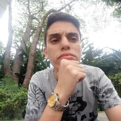 Guilherme, 18 anos, site de encontros